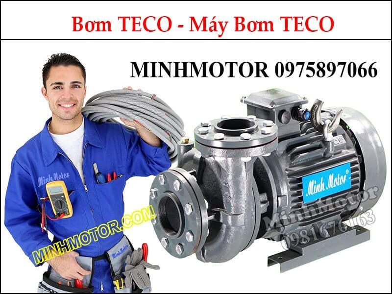 Motor 3 Pha Teco Hút Nước