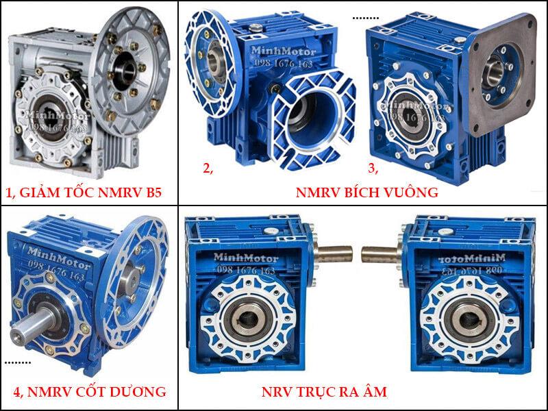 Các loại hộp giảm tốc NMRV