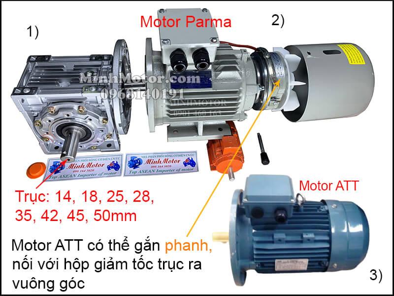 Lắp đặt động cơ ATT