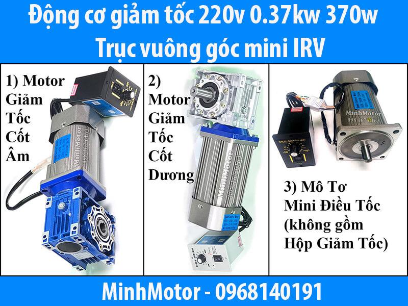 Motor mini + hộp số RV
