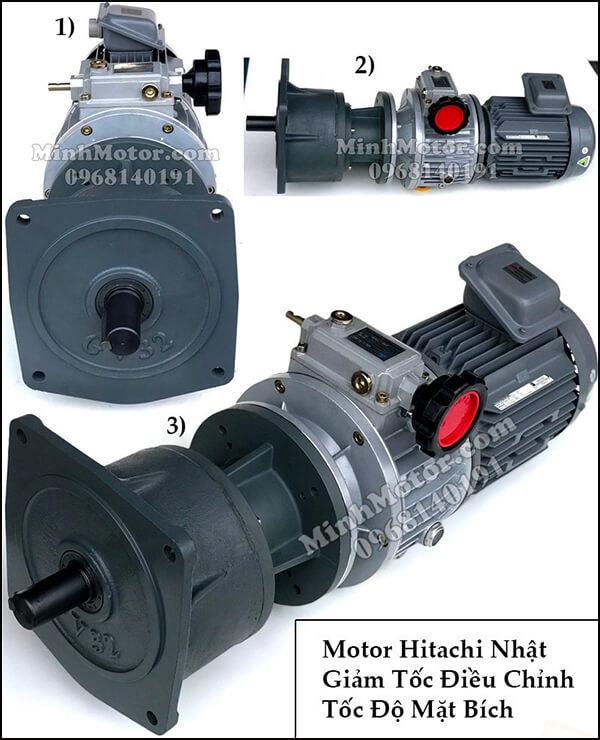 Động cơ điện Hitachi điều chỉnh tốc độ