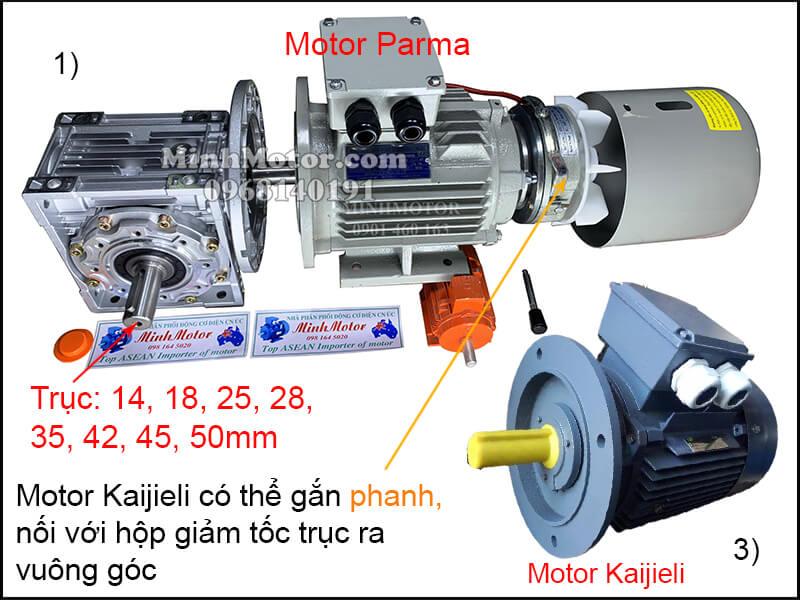 Lắp đặt động cơ Kaijieli