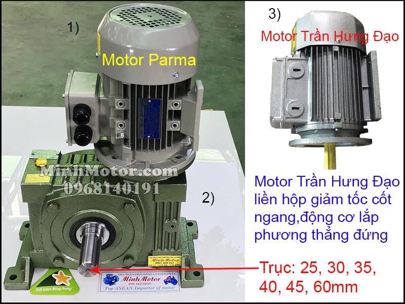 Vận hành motor Trần Hưng Đạo 3 pha 220v