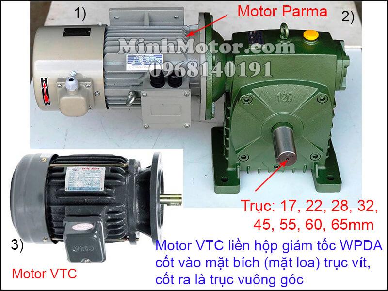 Động cơ VTC biến đổi tần số