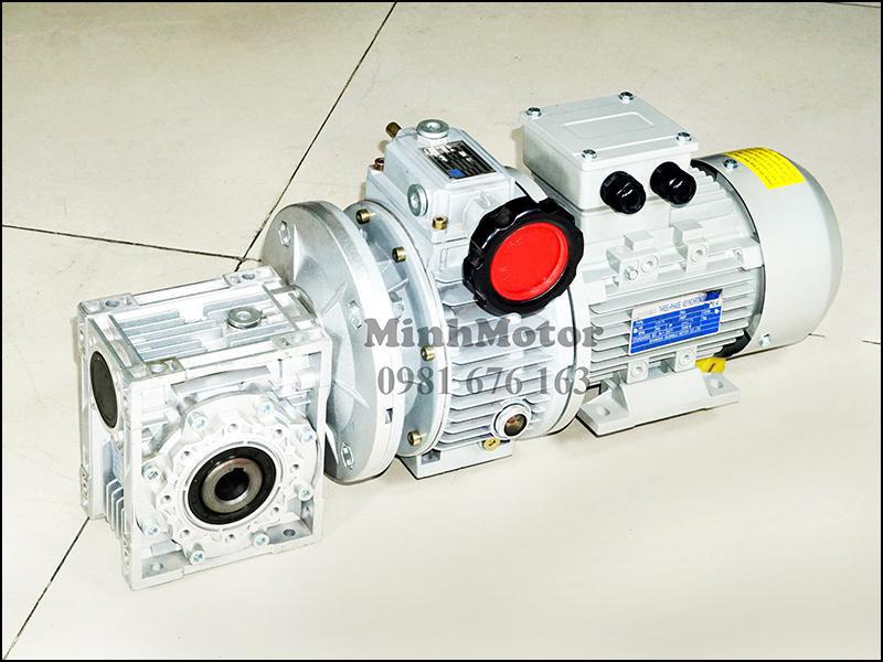 Motor giảm tốc cốt âm điều chỉnh tốc độ