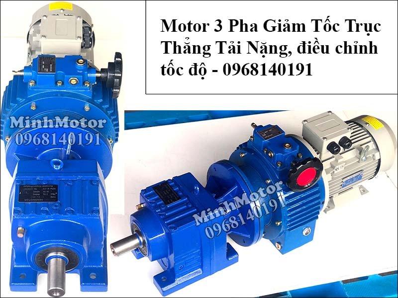 Motor giảm tốc tải nặng điều chỉnh tốc độ