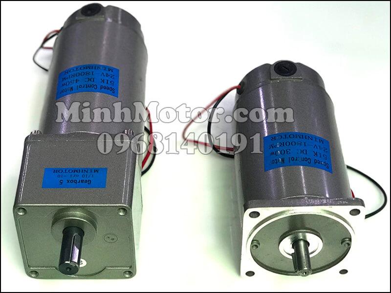 động cơ điện 1 chiều DC 12v 24v