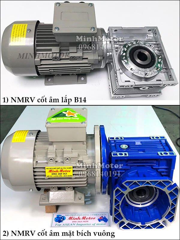 motor 0.4kw mặt bích B14 – B34