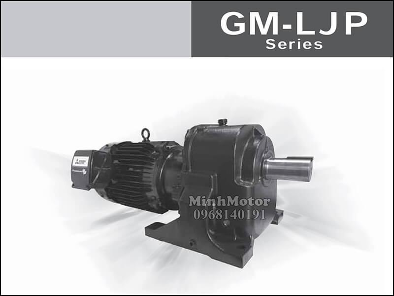 Động cơ giảm tốc Mitsubishi tải nặng GM
