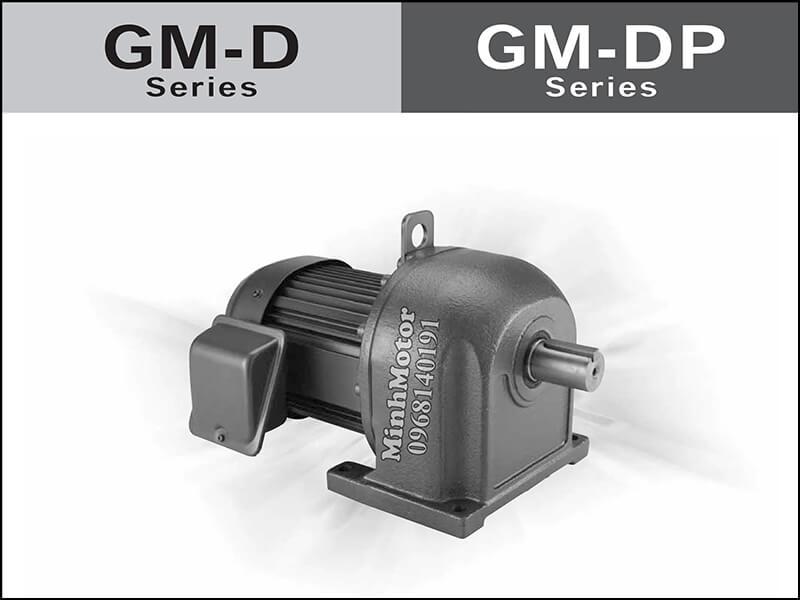 Motor giảm tốc mitsubishi GM-D, GM-DP