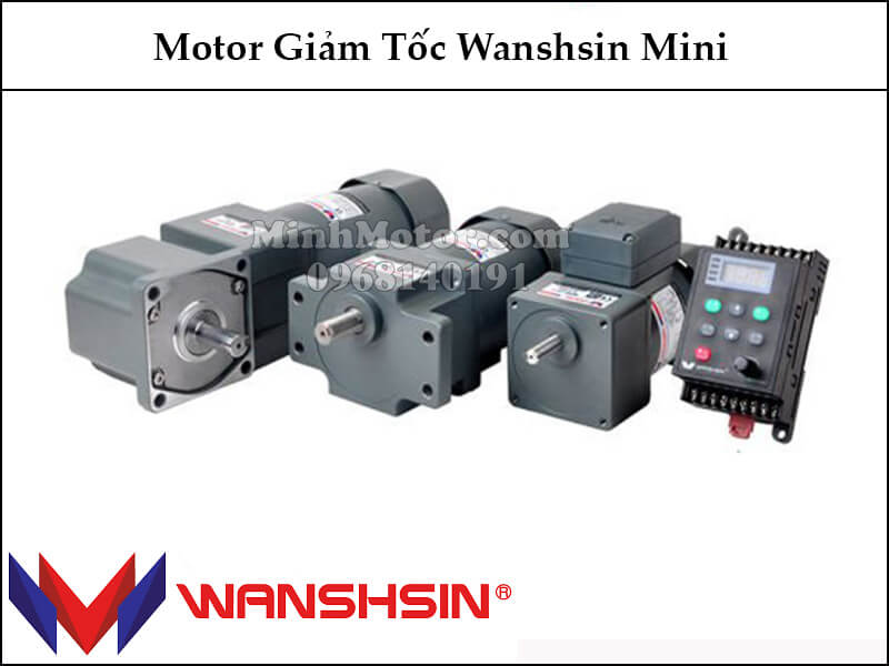 Motor giảm tốc Wanshsin mini