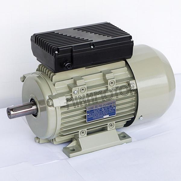 Động cơ điện 1.1kW – Motor điện 1.1kW 1 pha 1.5 HP 1400-1500 RPM công nghệ Úc