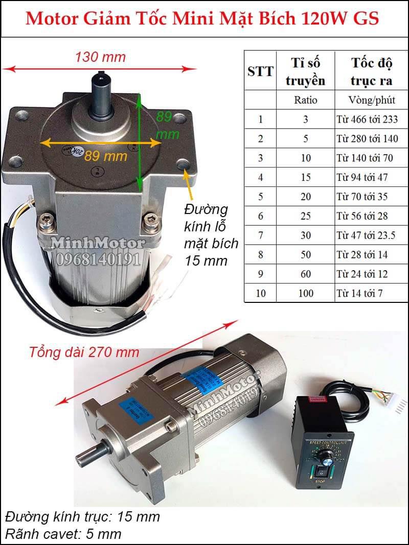 Cách làm giảm tốc độ quay mô tơ 1 Pha
