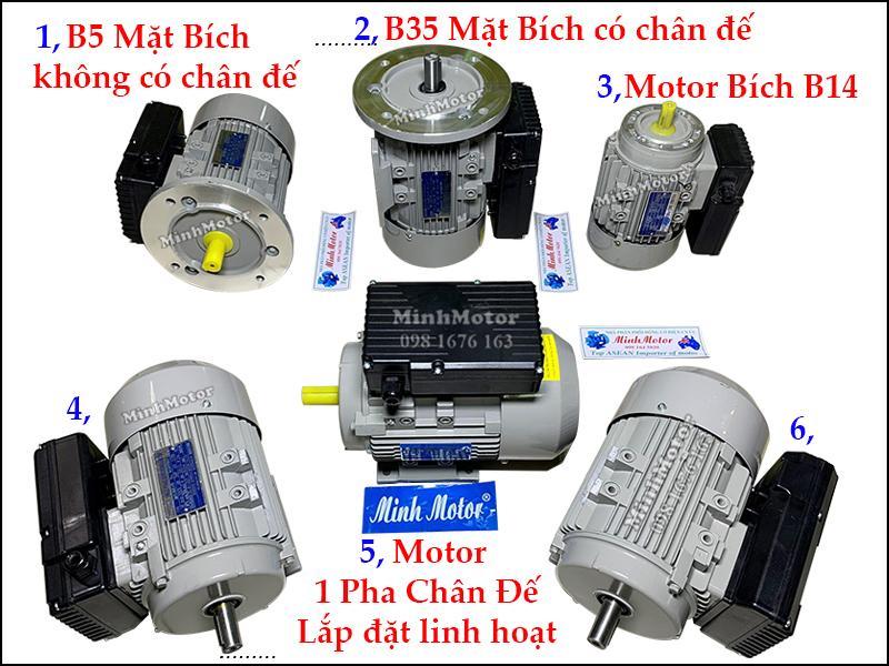 Giá động cơ điện motor điện 1 pha 220v