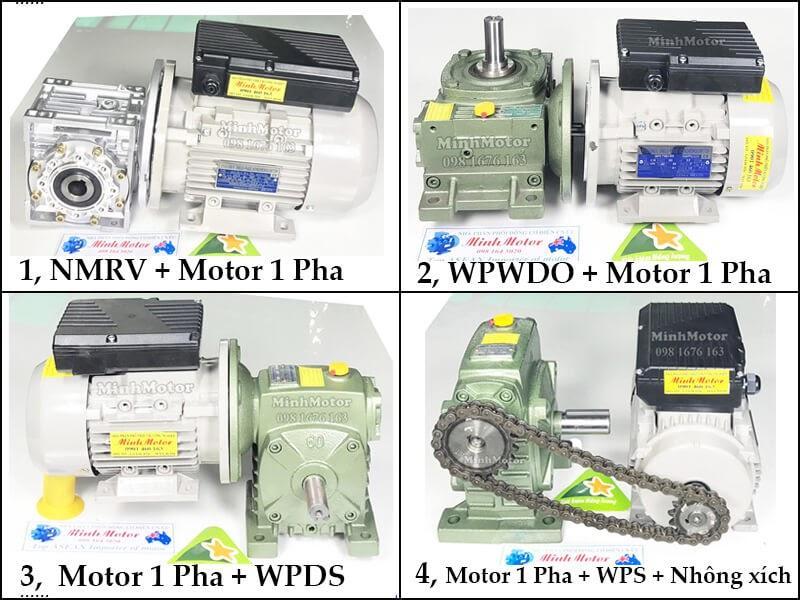 Giá Motor điện 1 pha 220v, 2 pole tải trung bình, nhẹ YL