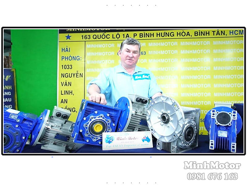 Motor Giảm Tốc Bắc Ninh