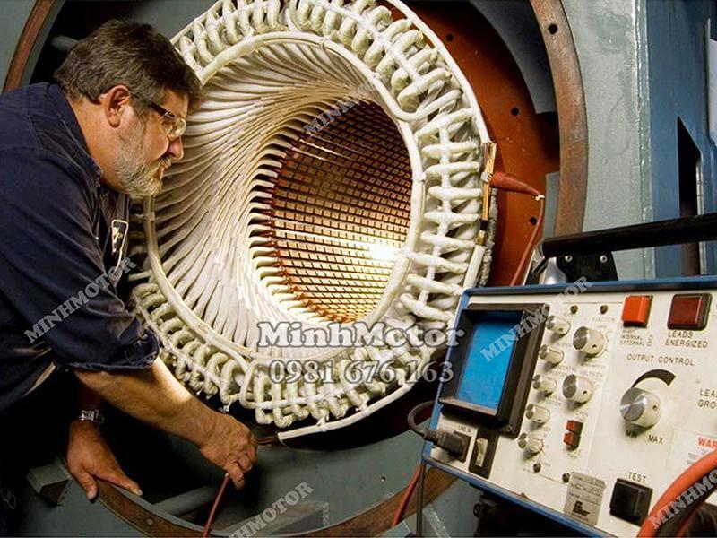 Motor điện Trung Quốc có chứng chỉ chất lượng mã CQ của Đức