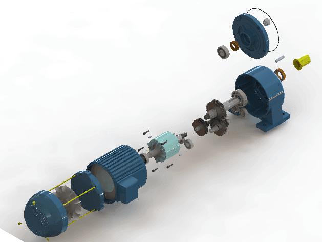 Một trong những loại motor quay vịt thông dụng nhất hiện nay