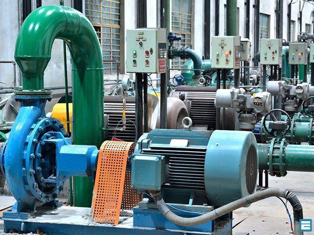 Nhà máy sản xuất motor cảm ứng điện với dây chuyền thiết bị hiện đại