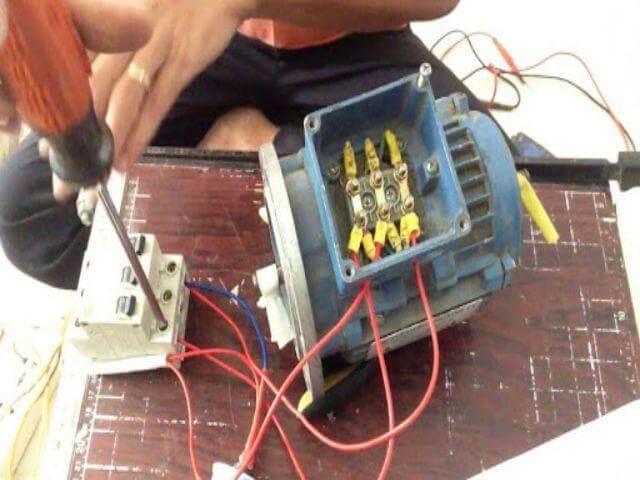 Trên thực tế thì động cơ 3 pha có thể vận hành ở lưới điện 1 pha