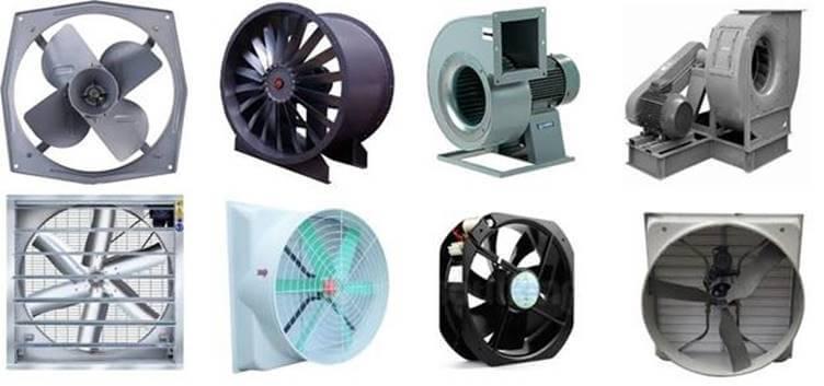 Quạt hút haycòn gọi là quạt thông gió công nghiệp