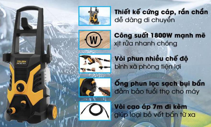 Tolsenlà thương hiệu máy bơm rửa xe tăng áp đến từTrung Quốc