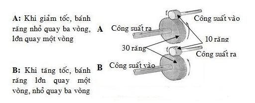 Sơ đồ nguyên lý hoạt động chi tiết của hộp giảm tốc