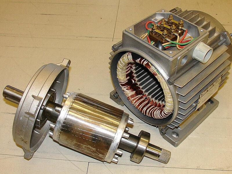 Rotorlà một thành phần chuyển động của 1 hệ thống điện từ