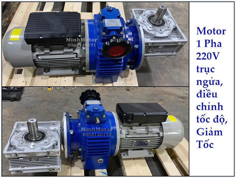 Bộ điều tốc motor 220v úp ngửa