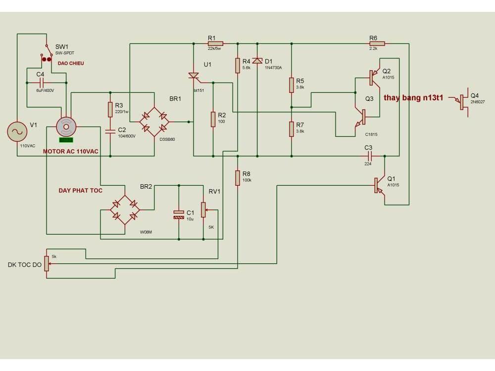 Điều chỉnh tốc độ máy nén khí bằng phương pháp thay đổi số đôi cực