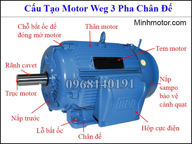 Động Cơ WEG – Cách Lắp Đặt Sử Dụng Đấu Điện, Lựa Chọn Motor