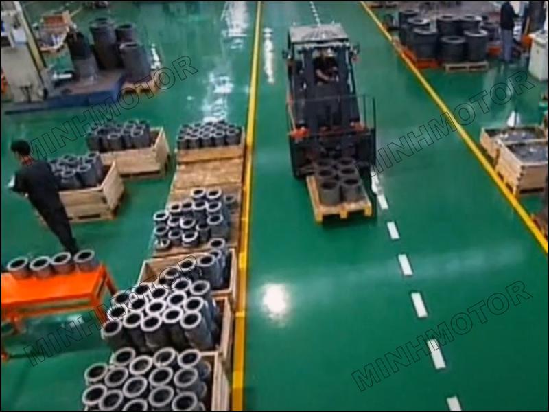 Chế tạo rotor và stator- Máy dập cắt tôn silic
