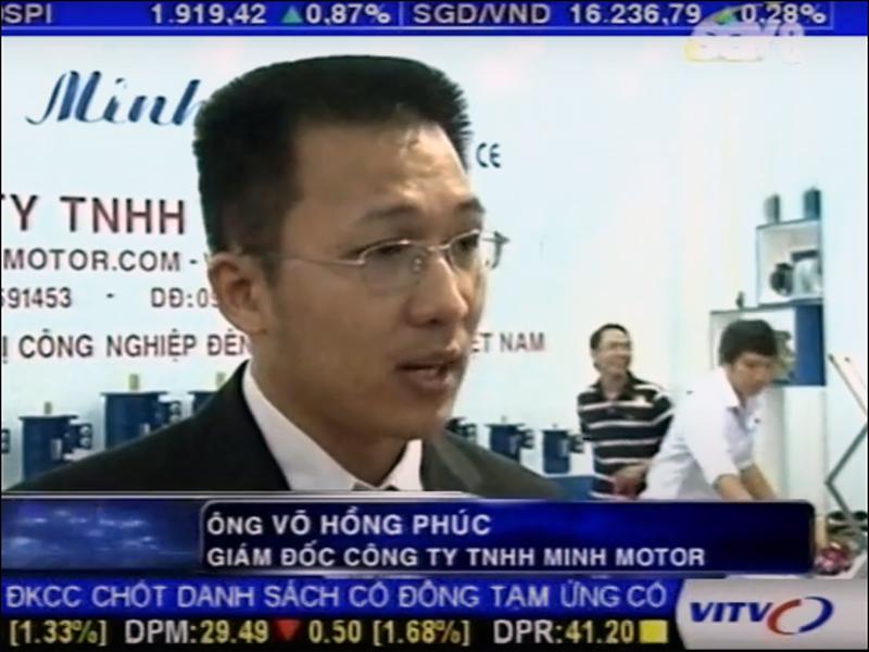 Đài truyền hình phỏng vấn Công ty MINHMOTOR 2011