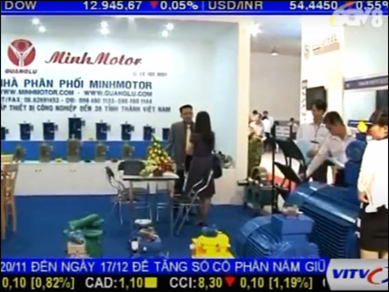 Đài truyền hình phỏng vấn Công ty MINHMOTOR 2013