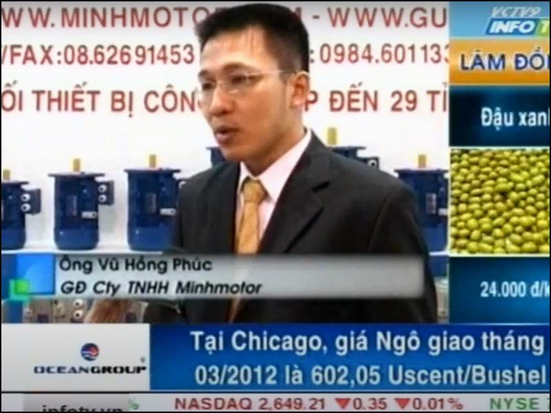 Đài truyền hình phỏng vấn Công ty MINHMOTOR 2012