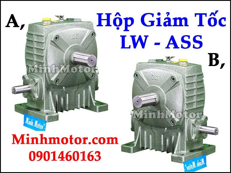 Hộp giảm tốc LW ASS Đài Loan