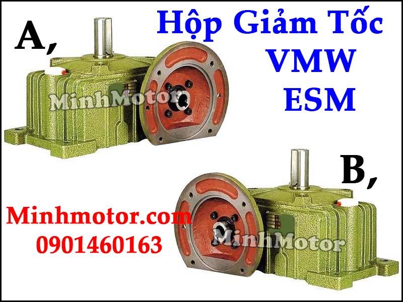 Hộp giảm tốc UW VMW Đài Loan