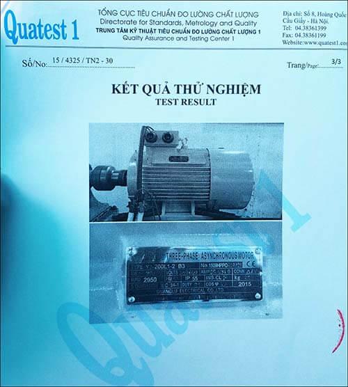 chất lượng motor 30kw 40hp