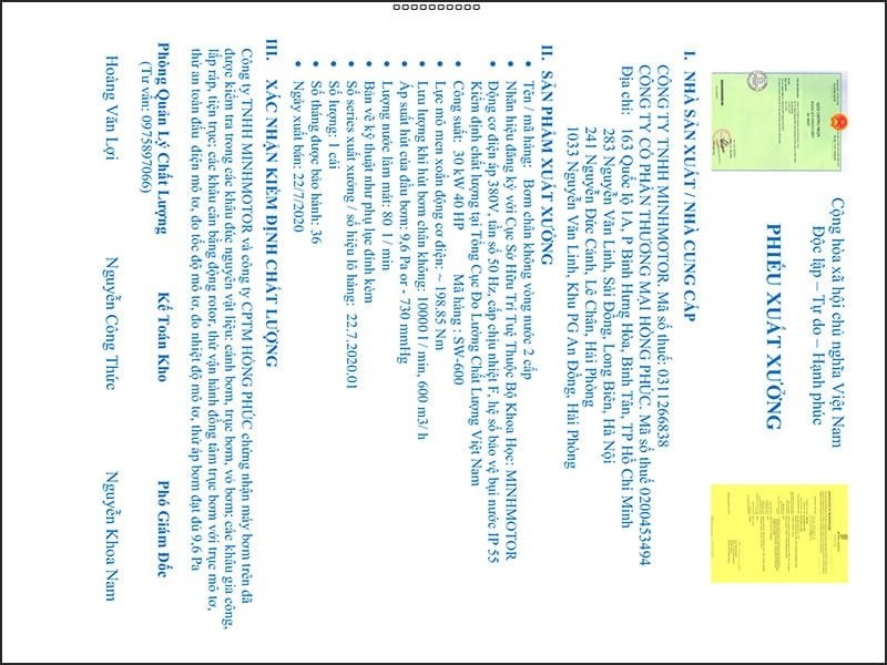 Kiểm định chất lượng xuất xưởng Bơm chân không vòng nước 30kw 40HP 40 ngựa