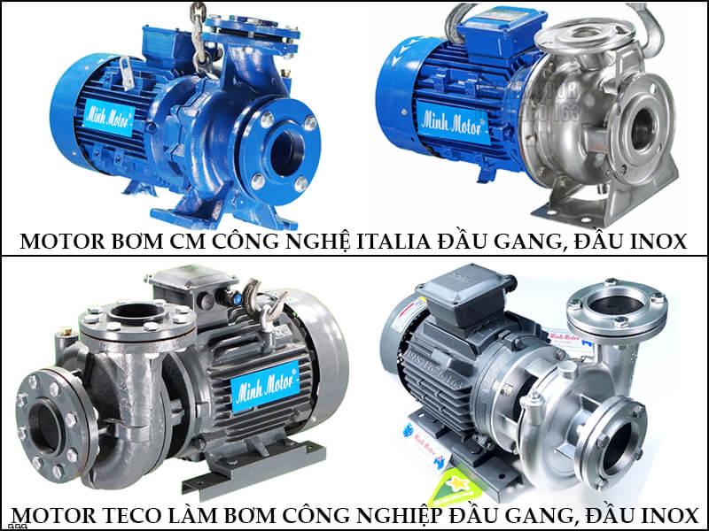 Sử dụng bơm nước CM công nghệ ITALIA