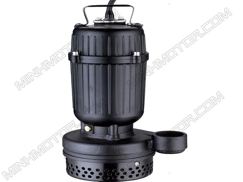 Bơm chìm nước thải thân gang 2HP 1.5kw 2 ngựa 220v 1 pha