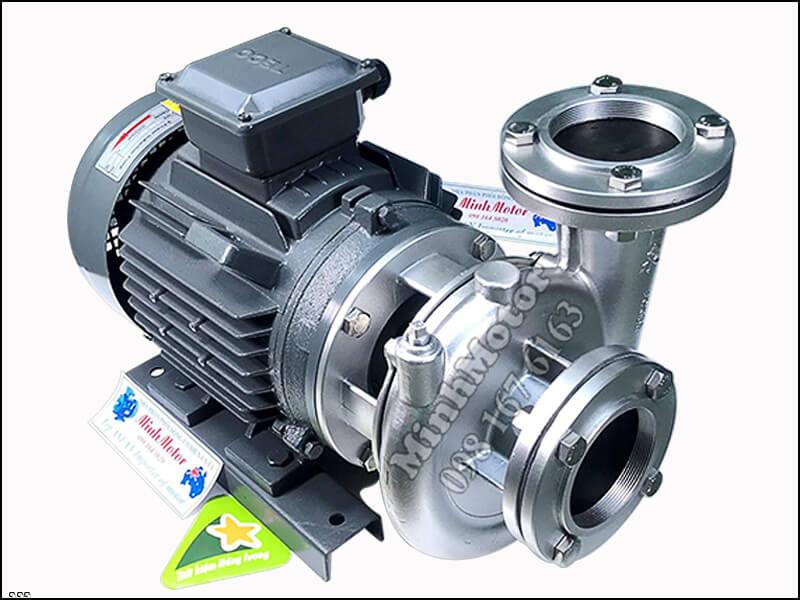 máy bơm Teco Inox 1.5kw 2hp, loại inox dày tuổi thọ tới 8 năm.
