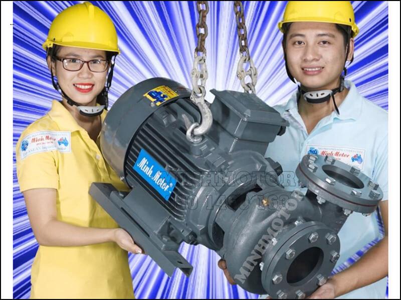 bơm nước 1.5kw 2hp Teco thương hiệu Đài Loan