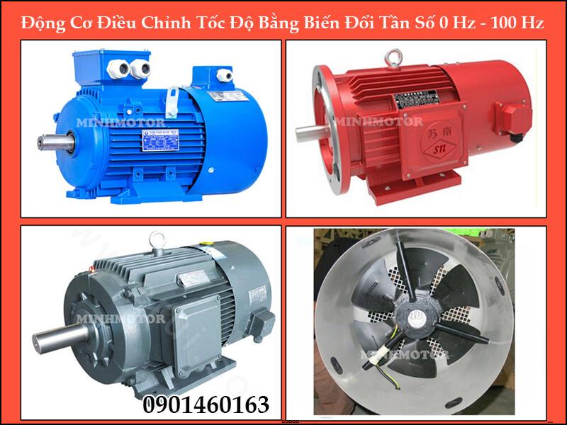 Motor điện 3 pha 90kw 125HP 4 poleYVP YVF với biến tần