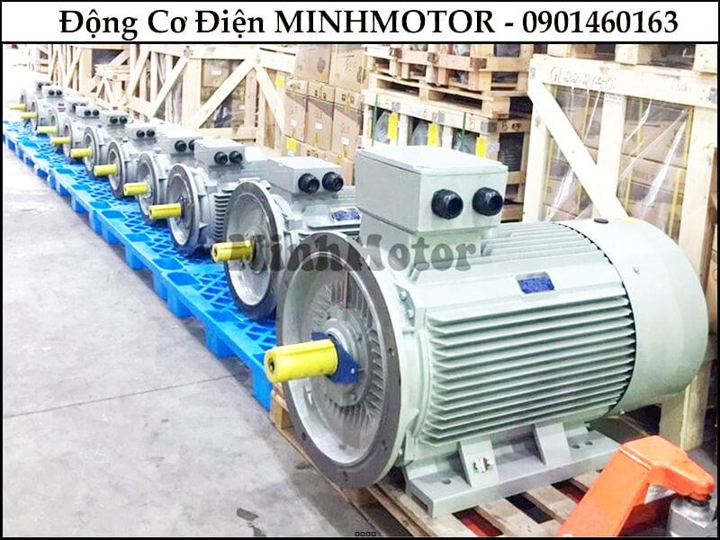 Motor 3 Pha 110Kw 150Hp 6 Pole mặt bích