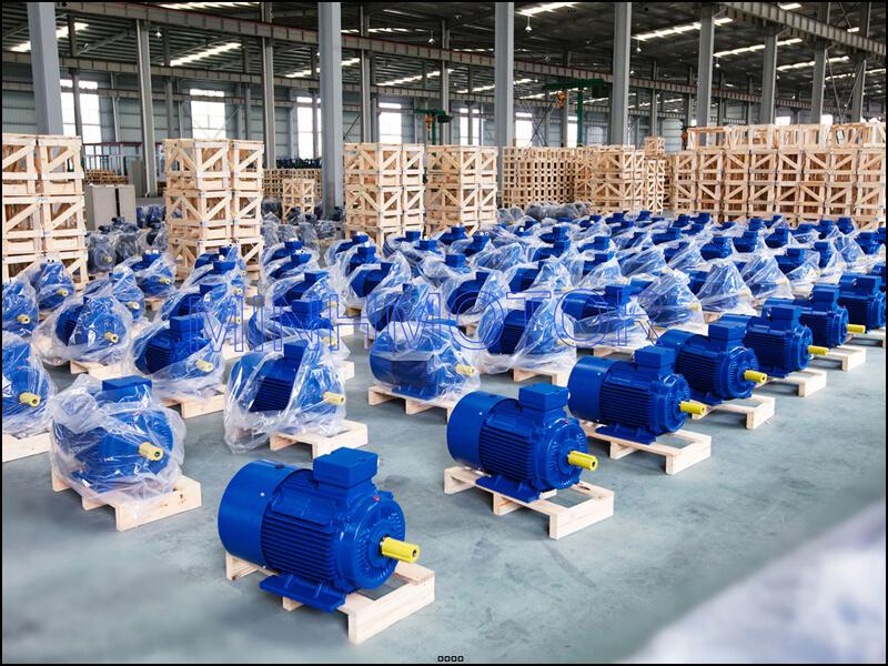 Kho xưởng động cơ điện lớn nhất