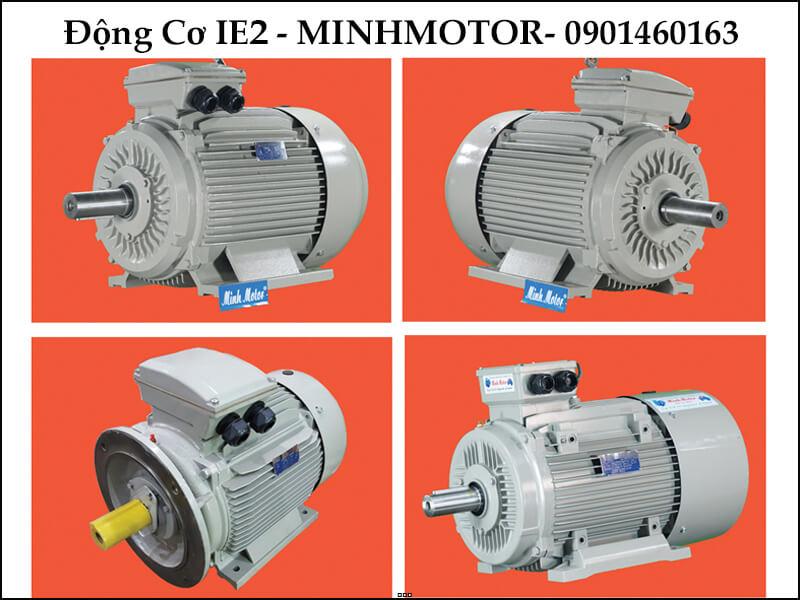 Motor điện 55Kw IE2 tiết kiệm điện nâng cấp
