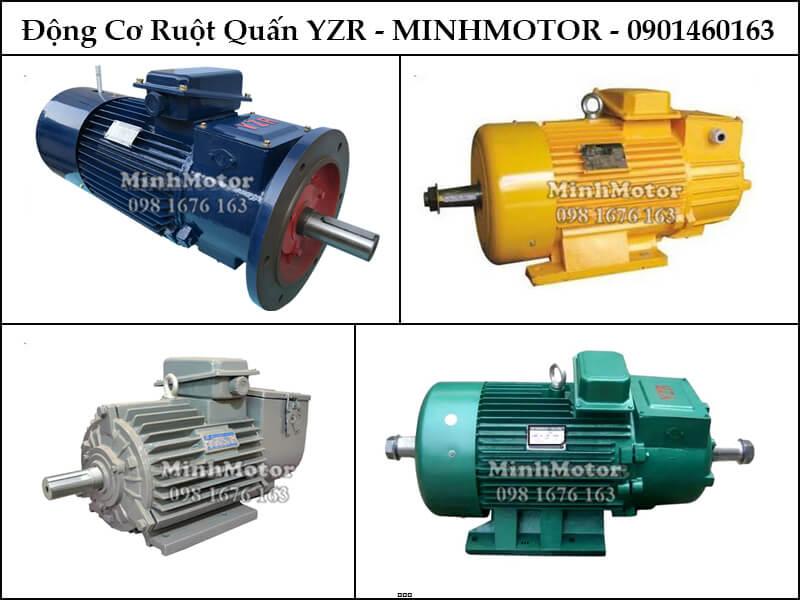 Động cơ rotor dây quấn YZR 55kw 75HP 4 cực điện