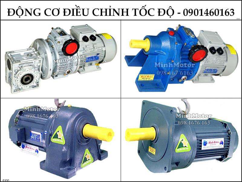 Chế tạo Motor 3 pha 0.25HP 0.18Kw 4 Cực điều chỉnh tốc độ