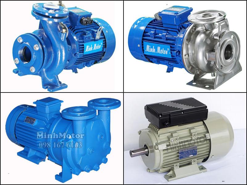 Động cơ 0.75kw 4P còn kết hợp với đầu bơm tạo ra motor bơm nước, bơm đầu inox, bơm hút chân không, hoặc kết hợp bộ điều tốc thành motor 0.75kw điều chỉnh tốc độ
